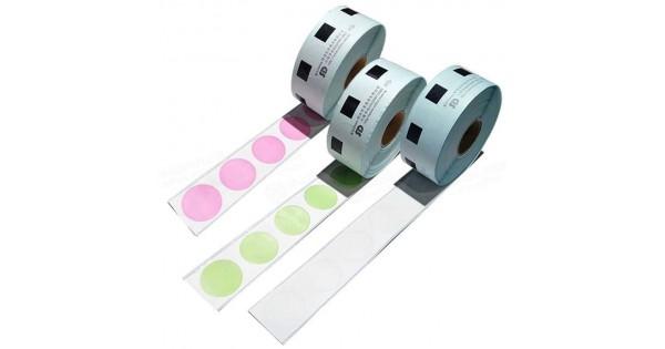 DK-11218 圓形定型標籤帶(24mm)1000pcs*多件優惠