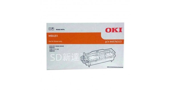 OKI全新原廠滾筒B431DN/431SDN/MB451/471/491料號:44574303