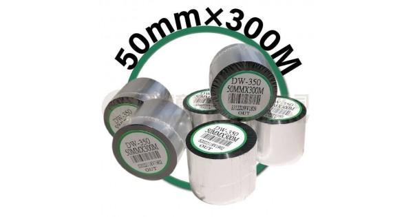 50mm×300M 條碼機 標籤機 專用碳帶/色帶