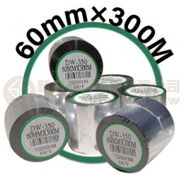 60mm×300M 條碼機 標籤機 專用碳帶/色帶