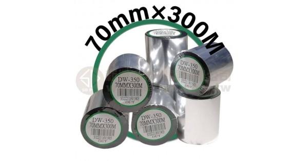 70mm×300M 條碼機 標籤機 專用碳帶/色帶