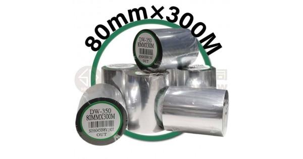 80mm×300M 條碼機 標籤機 專用碳帶/色帶