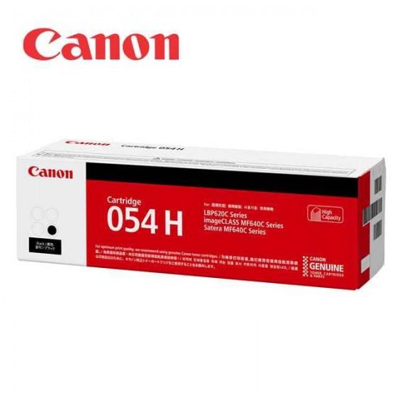 佳能 Canon CRG-054H BK 原廠碳粉匣(黑色)