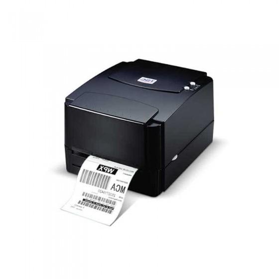 TSC TTP-244 PLUS 熱感熱轉二用條碼列印機/標籤列印機 USB介面