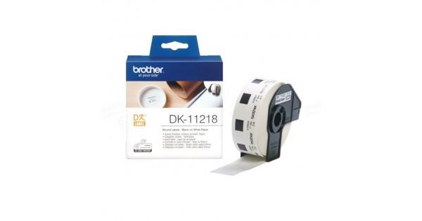 DK-11218 圓型標籤帶(24×24mm)*1000pcs