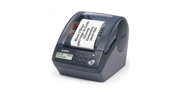 QL-650TD 條碼標籤機(吊牌/成分/服飾/營養標示/號碼機/抽號機)