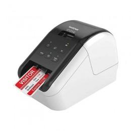 QL-810W 紅黑雙色Wi-Fi標籤機(營養標示/服飾吊牌/商品標示)