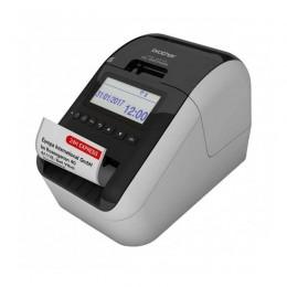 QL-820NWB 紅黑雙色藍牙Wi-Fi網路標籤機(營養標示/服飾吊牌/商品標示)